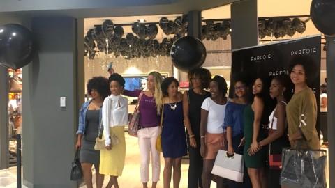 Campagne PARFOIS : inauguration de la boutique